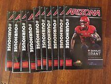 2016 College Gameday Football Program Arizona vs USC with Game Ticket