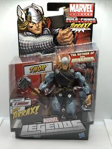 Marvel Legends Terrax Series Thor Build a Figure Collection New Free Shipping