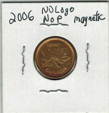2006 NO 'P' MAGNETIC NO LOGO 1 CENT PENNY CANADA RED/BROWN ULTRA RARE!!!