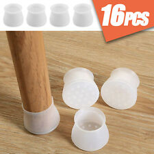 16PCS Silicone Chair Furniture Leg Feet Protection Table Cap Cover Pad Protector