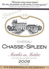 1bt Chateau Chasse Spleen 2009