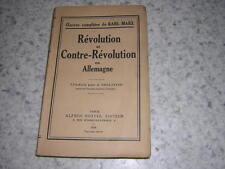 1933.révolution & contre-révolution en Allemagne.Engels.