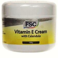 2 x FSC Vitamin E Cream + Calendula 100g **PARABENS FREE + VEGAN**