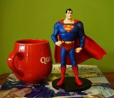 """DC Comic Superman Man of Steel Justice League 7"""" Statue Figure Figurine K1063"""
