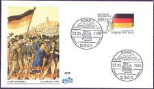 BRD 1990: Schwarz-Rot-Gold! FIDACOS-FDC der Nr. 1463 mit Bonner Stempeln! 1807
