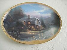 Thomas Kinkade Lamplight Village LAMPLIGHT GLEN 5th Collectible Plate