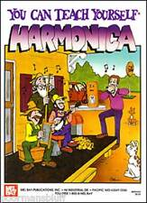 Mel Bay You Can Teach Yourself Harmonica w/ Bonus-New!