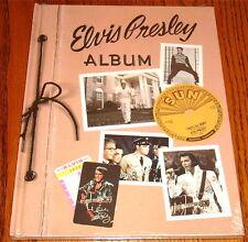 ELVIS PRESLEY ALBUM BOOK SEALED!     Scrapbook