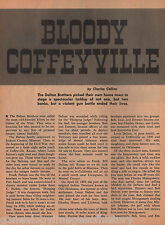 Bloody Coffeyville - The Dalton Brothers: Families Callahan,Carpenter,Connelly,