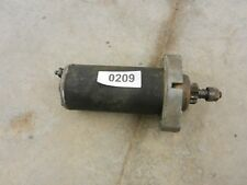 9.9 HP Johnson Evinrude outboard electric starter 209