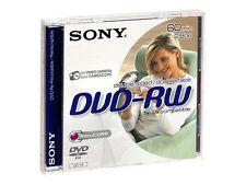 Sony Dvd-rw 2 8gb 8 Cm 2x Speed JEWEL Case DMW 60 AJ