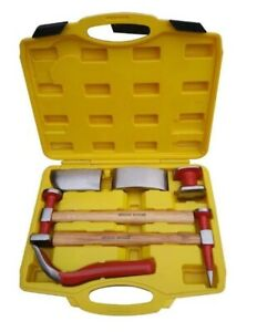 HAMMER AND DOLLY KIT PANEL BEATING SET 6 PIECE
