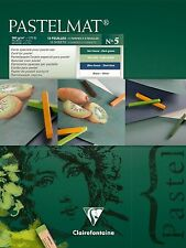 Clairefontaine pastelmat-Pastello Carta Pad - 360g (rif. 5) - 24 x 30cm