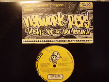 """NETWORK REPS - YEAH / STAY TUNED / HARDWIRED (12"""") 1999!!  RARE!!  PUNCH & WORDS"""