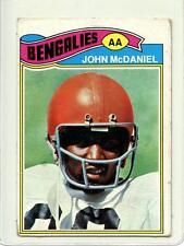John McDaniel 1977 Topps Mexican #89 Rare Huge SP Dirty Dozen Never Seen !!