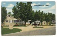 Suwanee Motor Court US Highway 41 Cordele Georgia GA Coffee Vintage Postcard