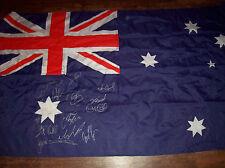 2013 Australia WC Rugby League Squad Signed Flag Kangaroos Shirt COA Jersey