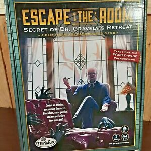 """Escape The Room """"Secret of Dr Gravely's Retreat"""" by ThinkFun"""