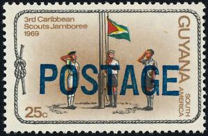 Guyana 453 MNH Scout Jamboree, Flag