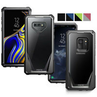 Poetic For Galaxy Note 9 /S9 Case,Hybrid Clear Back Shockproof Protective Cover