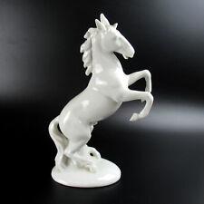 Wagner & Apel Porzellan Figur PFERD Hengst Porcelain Figurine Horse Stallion