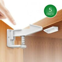 Invisible Hidden Security Child Safety Lock Cabinet Locks Baby Proofing Lock