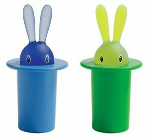 A di Alessi - ASG16 AZ - GR Magic Bunny portastuzzicadenti in resina