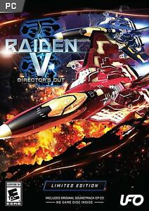 PC Raiden V: Director's Cut Limited Edition with Original Soundtrack EP CD