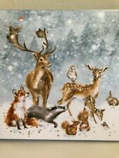 """WRENDALE CHRISTMAS CARDS """"WINTER WONDERLAND"""" BOXED PACK OF EIGHT"""