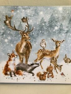 "WRENDALE CHRISTMAS CARDS ""WINTER WONDERLAND"" BOXED PACK OF EIGHT"