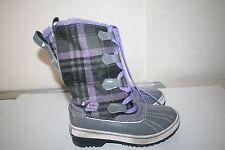 Skechers Kids 88606L Highlanders Safari Glitz Snow Boot Purple Size 13 US STK#D3