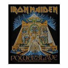 IRON MAIDEN - POWER SLAVE - WOVEN PATCH - BRAND NEW - MUSIC BAND 2563