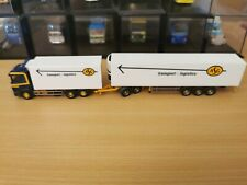 (P10) Herpa LKW H0 1:87 Scania Megaliner ASG