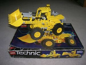 Lego technic Pelleteuse excavatrice 8853 + boite + notice : complet