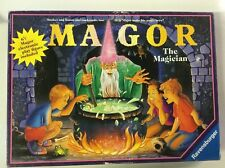Magor The Magician The Board Game Rare Untested