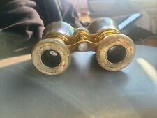 Vintage Binoculars Mother Of Preal made in France