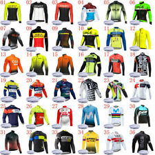 Men winter cycling Jersey 2020 thermal fleece bike shirt long sleeve bicycle Top