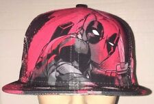 Deadpool Marvel New Era All Over 59Fifty Rare and Exclusive 7 3/8