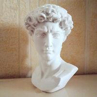 David Portraits Bust Mini Gypsum Resin Statue Michelangelo Buonarroti Sculpture