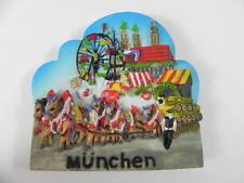 MÜNCHEN Oktoberfest Magnet Relief Germany ,NEU