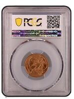 1968 Australian Decimal 2 Cent Coin PCGS Grade MS63RD Uncirculated