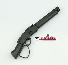 1/6 Winchester M1887 Shotgun Model Weapon Toy Collectible Military Figure Black