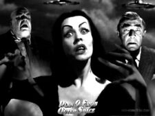 """Plan 9 From Outer Space Lobby Card 10/"""" X 7/"""" Reproduction Metal Sign I240"""