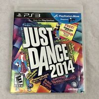 Just Dance 2014 for PS3 Sony Playstation 3 Game Complete with Manual and Insert