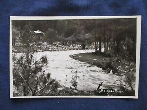 RP Ruidoso New Mexico Ruidoso River ca1930 Postcard