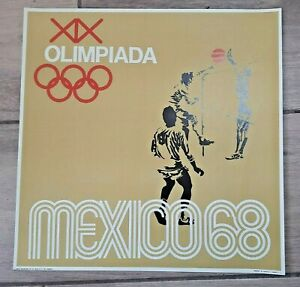 Mexico 1968 Olympic Games Poster #3