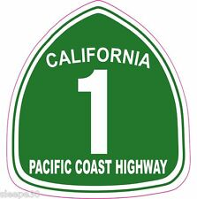 Pacific Coast Highway PCH California 1 Vinyl Sticker Decal **FREE SHIPPING**