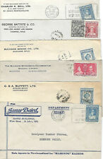 SIX DIFFERENT NEWFOUNDLAND BUSINESS COVERS  LOT 2