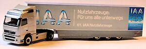 Volvo Gl Box Semitrailer Truck Iaa 2006 - 1:87 Herpa Exclusive Series