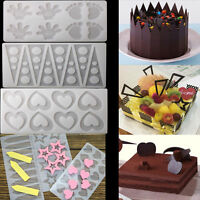 New Silicone Chocolate Fondant Candy Cake Decorating Sugarcraft Baking Mould